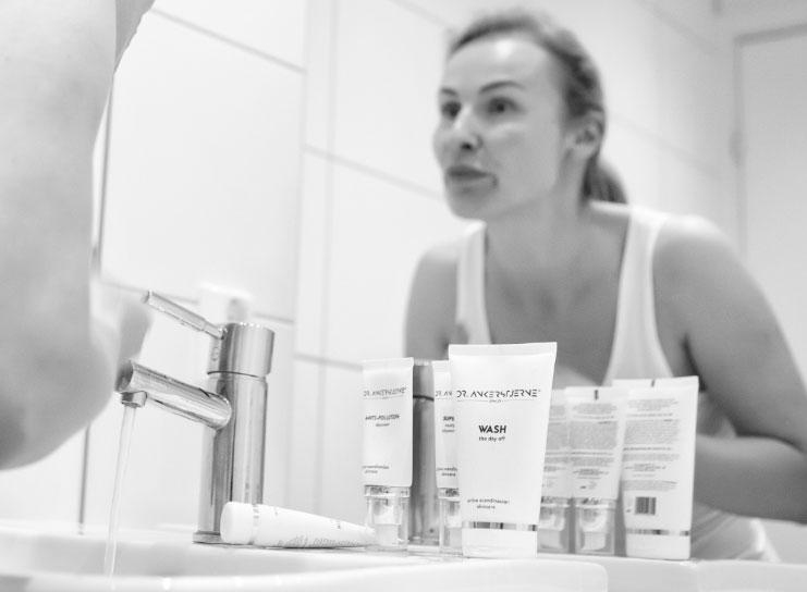 Har du kombinert hud i ansiktet, har vi produktene for deg